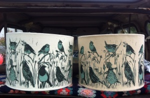 Lampshades £55 each